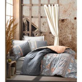 Bavlnené obliečky s plachtou Cotton Box Adiel, 200 x 220 cm