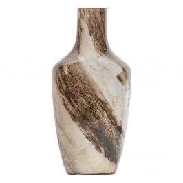 Hnedo-béžová váza BePureHome, výška 37 cm