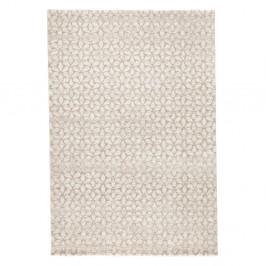 Béžový koberec Mint Rugs Triangles, 80 × 150 cm