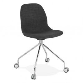 Sivá kancelárska stolička Kokoon Ruleta