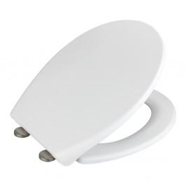 Biele WC sedadlo Wenko Ikaria