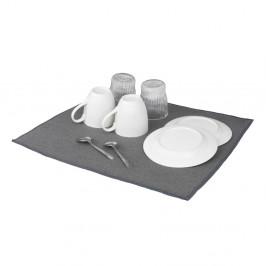 Sivá absorpčná podložka na umytý riad Wenko Miko