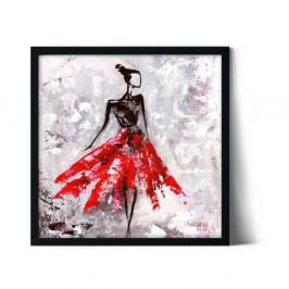 Plagát v ráme Insigne Cecille, 50 x 50 cm
