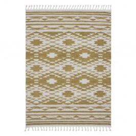 Žltý koberec Asiatic Carpets Taza, 160 x 230 cm