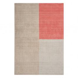 Béžovo-ružový koberec Asiatic Carpets Blox, 120 x 170 cm