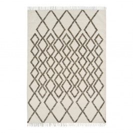 Béžovo-sivý koberec Asiatic Carpets Hackney Diamond, 160 x 230 cm