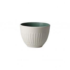 Bielo-zelená porcelánová šálka Villeroy & Boch Blossom, 450 ml