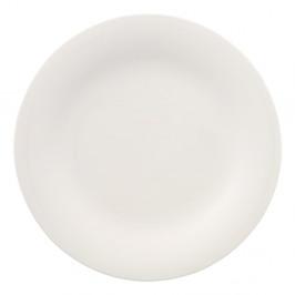 Biely porcelánový tanier Villeroy & Boch New Cottage, ⌀ 27 cm