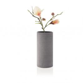 Sivá váza Blomus Bouquet,výška29cm