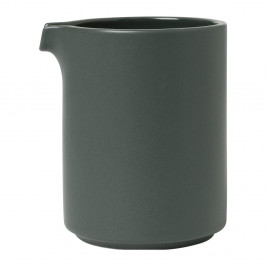 Tmavosivá keramická nádoba na mlieko Blomus Pilar,280 ml