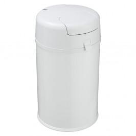 Biely odpadkový kôš na plienky Wenko Secura Premium