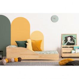 Detská posteľ z borovicového dreva Adeko Pepe Colm, 90 x 180 cm