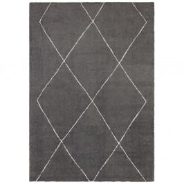 Tmavosivý koberec Elle Decor Glow Massy, 80 x 150 cm