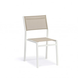 Súprava 4 sivobéžových záhradných stoličiek Ezeis Zephyr