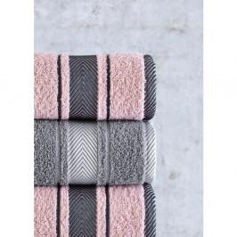 Súprava 4 uterákov Pure Cotton Mila, 50 x 85 cm