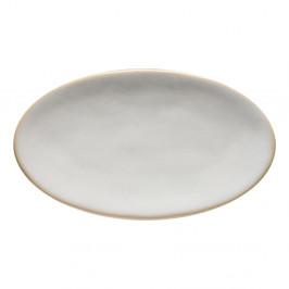 Biely kameninový tanier Costa Nova Roda, 22 x 12,7 cm