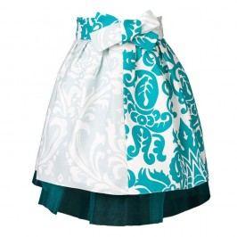 Detská zástera Little Princess Tulle and Blue Ornaments
