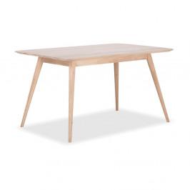 Jedálenský stôl z dubového dreva Gazzda Stafa,140x90x75,5cm