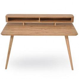Pracovný stôl z dubového dreva Gazzda Ena