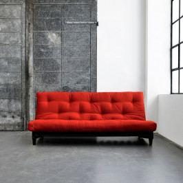 Rozkladacia pohovka Karup Fresh Wenge/Red