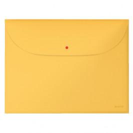 Žltá aktovka na dokumenty Leitz Cosy, A4