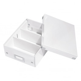 Biela škatuľa s organizérom Leitz Office, dĺžka 28 cm