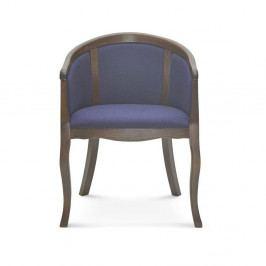 Modrá jedálenská stolička Fameg Christer