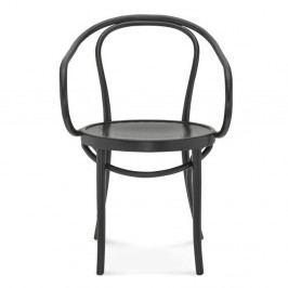 Čierna jedálenská stolička Fameg Jesper