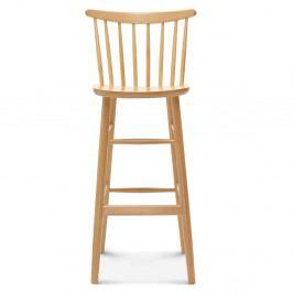 Barová drevená stolička Fameg Asger