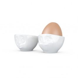 Sada 2 bielych kalíškov na vajíčka Ohplease 58 products