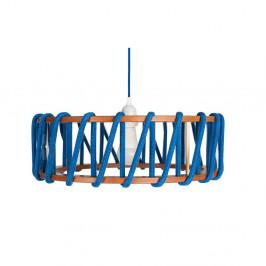 Modré stropné svietidlo EMKO Macaron, 45cm