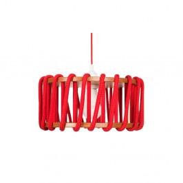Červené stropné svietidlo EMKO Macaron, 30cm