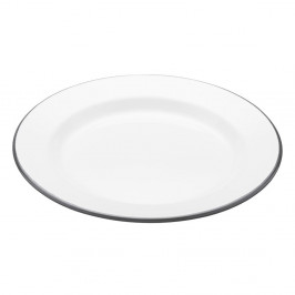 Smaltovaný tanier Kitchen Craft Living Nostalgia, ⌀24cm