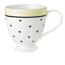 Keramický hrnček Miss Étoile Black Dots And Lemon