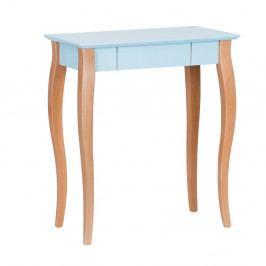 Svetlotyrkysový písací stôl Ragaba Lillo,dĺžka65cm