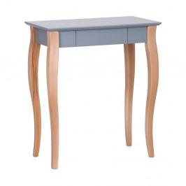 Tmavosivý písací stôl Ragaba Lillo,dĺžka65cm