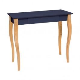 Grafitovosivý písací stôl Ragaba Lillo,dĺžka 85cm