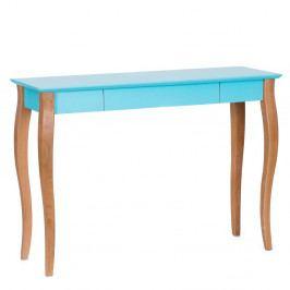 Tmavotyrkysový písací stôl Ragaba Lillo,dĺžka105cm