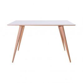 Biely jedálenský stôl Ragaba Planet Rectangular