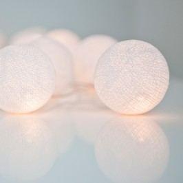 Svetelná reťaz Irislights  Pure White,20svetielok