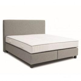 Svetlosivá bo×spring posteľ Revor Roma, 160×200cm