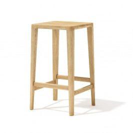 Barová stolička z masívneho dubového dreva Javorina, 65cm