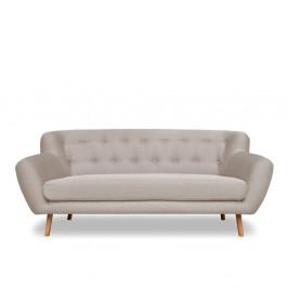 Sivobéžová pohovka Cosmopolitan design London, 192 cm
