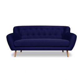 Tmavomodrá pohovka Cosmopolitan design London, 162 cm