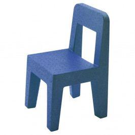 Detská modrá stolička Magis Seggiolina Pop