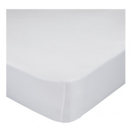 Biela bavlnená elastická plachta Mr. Fox Happynois, 60×120cm
