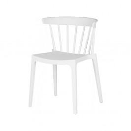 Biela jedálenská stolička DeEekhoorn Bliss