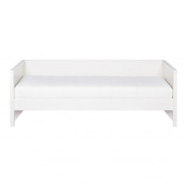 Biela posteľ/sofa WOOOD Nikki, 200×90 cm