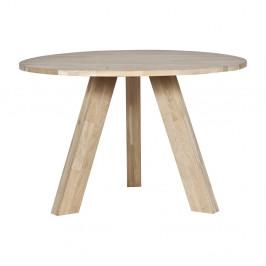 Jedálenský stôl z dubového dreva De Eekhoorn Rhonda, Ø 129cm