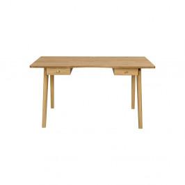 Písací stôl s prírodnou doskouWoodmanNice